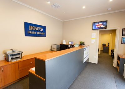 Hower Crash Repair have a well equipped workshop in Lonsdale, South Australia